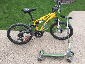 Kids Mountain Bike & Scooter