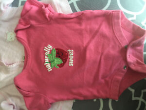 0-3 months old baby girl clothing