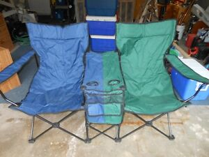 Double wide folding Lawn chair Kitchener / Waterloo Kitchener Area image 3