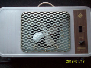 Electric space heater 1500W