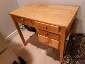 Kids desk with matching chair