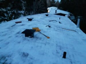 Snow removal off roofs