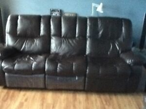 recliner couch and recliner love seat