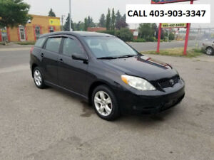 2003 TOYOTA MATRIX XR HATCHBACK W/NEW CLUTCH INSTALLED