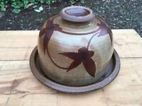Cheese dish, pottery.
