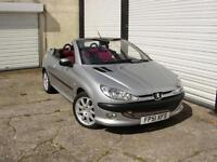 2001 51 Peugeot 206 2.0 16v Coupe Cabriolet SE **Service History**