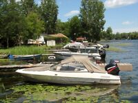 Good condition 2000 Bow Rider, 2003 50 HP Mercury & Trailer