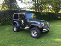 2004 Jeep Wrangler 4.0 Automatic, Removable Hard Top.