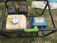 Honda stephil generator. 2.7kva.