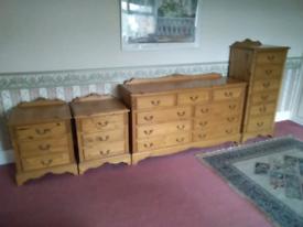 Jaycee 5 piece Bedroom set