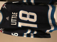 Brian Little Autographed Authenticated Jersey