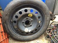 BMW E46 17 inch space saver wheel