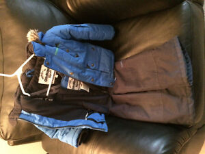 Osh kosh winter jacket and snow pants