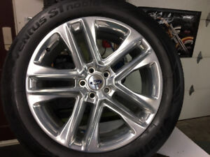 """explorer 20"""" tires & rims with tpms"""