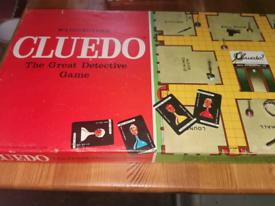 Vintage Waddingtons Cluedo Detective Game