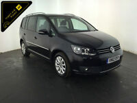2012 VOLKSWAGEN TOURAN SPORT TDI 7 SEATER 1 OWNER SERVICE HISTORY FINANCE PX