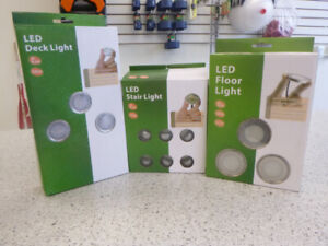 Led Stair, Floor and deck Lights