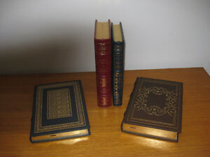 Leather Bound, Gold Gilded Edge First Editions $50. each