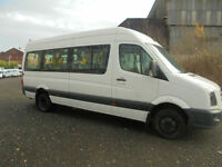 VOLKSWAGAN CRAFTER 17 SEATER MINIBUS WITH WHEEL-CHAIR ACCESS AND COIF/PSV TEST