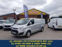 2015 15 FORD TRANSIT CUSTOM LIMITED LONG WHEEL BASE 125 BHP 1 OWNER LOW MLS DI
