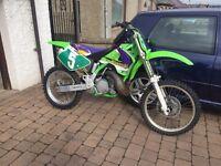 Kawasaki kx250 motocross