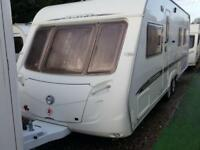 2007 Swift Conqueror 4 Berth Fixed ISLAND Bed Twin Axle Caravan
