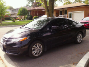 2014 Honda Civic LX Coupe (2 door)