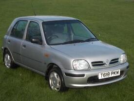 1999 (T) Nissan Micra 1.3 16v Profile
