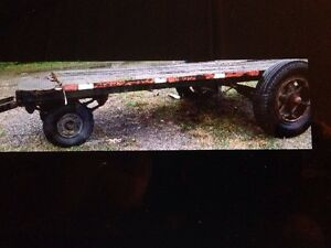 Old Military heavy duty trailer $425.