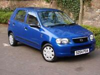 RARE AUTO!!! 2005 SUZUKI ALTO 1.1 GL AUTOMATIC, LONG MOT, 2 LADY OWNERS