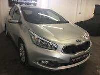 Kia ceed 1.6CRDi ( 126bhp ) 2012MY 3,Zero Road Tax,sat Nav,FSH