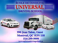 UNIVERSAL DRIVING SCHOOL (CAR & TRUCK)