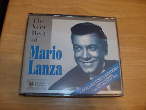 CD SET THE VERY BEST OF MARIO LANZA COLLECTOR'S EDITION
