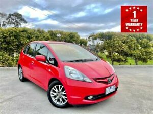 2010 Honda Jazz GE GLI Limited Edition Red 5 Speed Manual Hatchback Mordialloc Kingston Area Preview