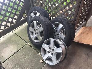 Honda Civic Tires and Rims