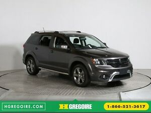 2016 Dodge Journey Crossroad AWD CUIR TOIT 7PASSAGERS MAGS BLUET