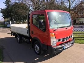Nissan Cabstar Pick Up, 10.5' Alloy Drop Side, C/W Tail Lift.