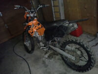 2005 ktm 525sx stroked to 560