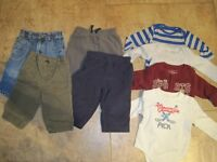 Boys fall clothes - 3-6 months