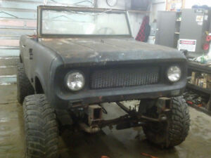 1960's International Scout 80 Project - Try your trades