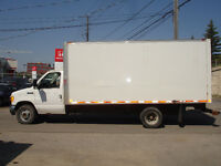 2007 Ford E-450 Diesel Cube Van With 16FT. Box