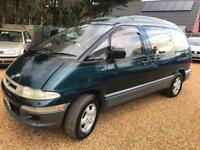 2003 Toyota Previa Automatic Mot 29/05/2018 2 Service Invoices very clean car