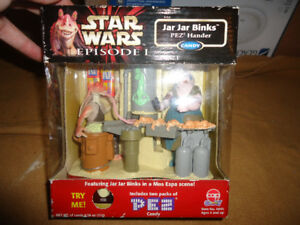 STAR WARS EPISODE 1 JAR JAR BINKS PEZ HANDER