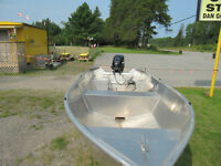 Stanley Boat, Motor, & Trailer for sale
