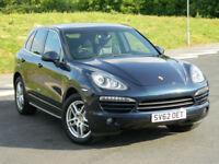 2012 (62) REG PORSCHE CAYENNE 3.0TD (245bhp) 4WD TIPTRONIC S 1 OWNER+HIGH SPEC!
