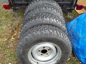 Truck/SUV Tires...trade for snow machine......