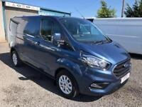 Ford Transit Custom 2.0TDCi 130 Limited new model delivery miles