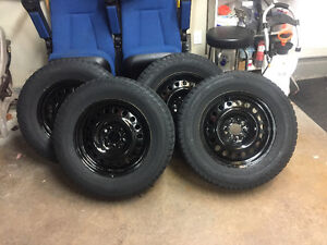 Wheels and Winter Tire 245/65R17