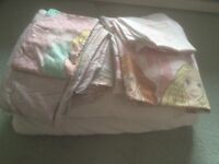 Duvet set/ pillow and duvet for toddler bed