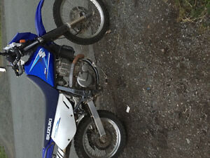 2008dr 650 for trade